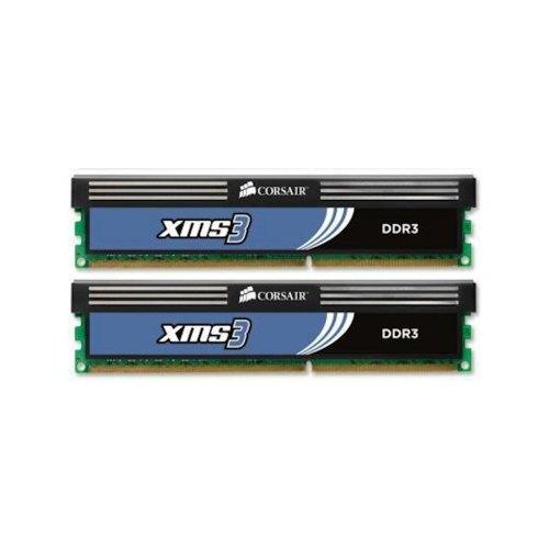 Модуль памяті DDR3 4096Mb CORSAIR (CMX4GX3M2B1600C9) 1600MHz, PC3-12800, CL9, (9-9-9-24), 1.5V, (Kit:2x2048MB), XMS3