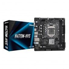 Материнська плата Intel s1200 H470 2DDR4 1PCIex16 VGA/HDMI H470M-HVS