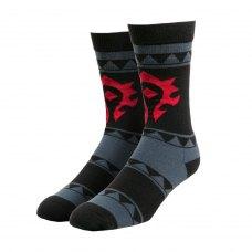 Шкарпетки WORLD OF WARCRAFT Casual Horde (Варкрафт Орда) Різнокольоровий