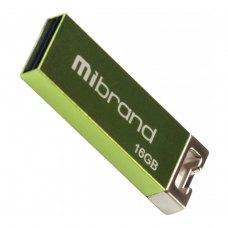 USB флеш 16GB Mibrand Chameleon USB 2.0 Light Green (MI2.0/CH16U6LG)