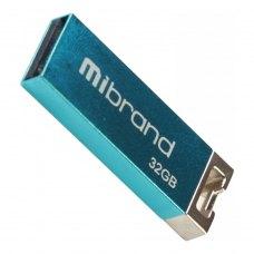USB флеш 32GB Mibrand Chameleon USB 2.0 Light blue (MI2.0/CH32U6LU)