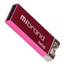 USB флеш 64GB Mibrand Chameleon Pink (MI2.0/CH64U6P)