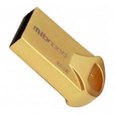 USB флеш 32GB Mibrand Hawk Gold (MI2.0/HA32M1G)