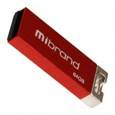 USB флеш 64GB Mibrand Chameleon Red (MI2.0/CH64U6R)