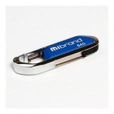 USB флеш 64GB Mibrand Aligator Blue (MI2.0/AL64U7U)