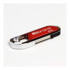 USB флеш 64GB Mibrand Aligator Dark Red (MI2.0/AL64U7DR)