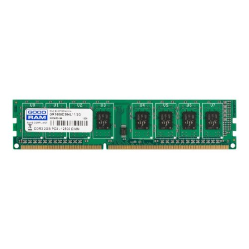 Модуль памяті DDR3 GoodRam 2048Mb GoodRam (GR1600D364L11/2G) 1600MHz, PC3-12800, CL11, (11-11-11-30), 1.5V