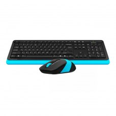 Комплект бездротовий (клавіатура+мишка), A4Tech FG1010 (Blue)