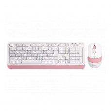 Комплект бездротовий (клавіатура+мишка), A4Tech FG1010 (Pink)