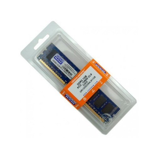 Модуль памяті DDR3, 2GB, 1333MHz, GoodRam (GR1333D364L9/2G)