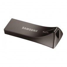 USB флеш, 256GB, Samsung Bar Plus Black (MUF-256BE4/APC) метал, чорний, USB 3.1