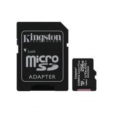 microSDHC карта 256GB Kingston Canvas Select Plus Class 10 UHS-I U3 V30 A1 + SD-адаптер (SDCS2/16GBSP)
