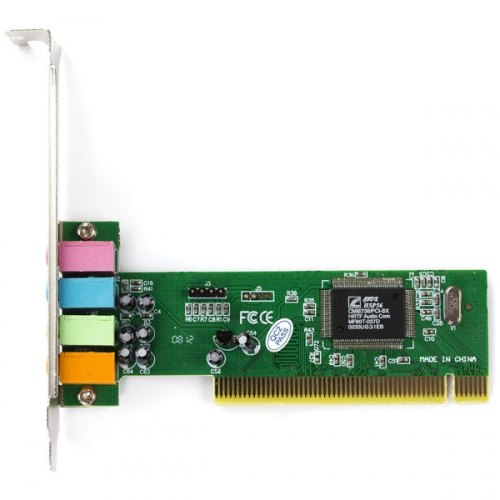 Звукова плата 4.0, Manli C-MEDIA 4CH (M-CMI8738-4CH), PCI, 4 канали, Bulk