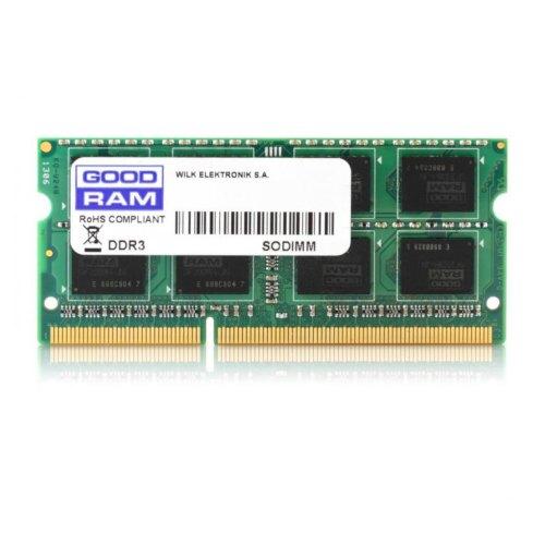 Модуль памяті SODIMM DDR3 GoodRam 2Gb 1333 MHz (W-AMM13332G) 2 Gb, DDR 3, 1333 MHz, PC3-10660, CL9, 1.5V, 1 планка