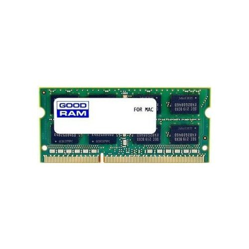 Модуль пам'яті SODIMM DDR3 GoodRam 4Gb 1066 MHz (W-AMM10664G) 4 Gb, DDR 3, 1066 MHz, PC3-8500, CL7, 1.5V, 1 планка