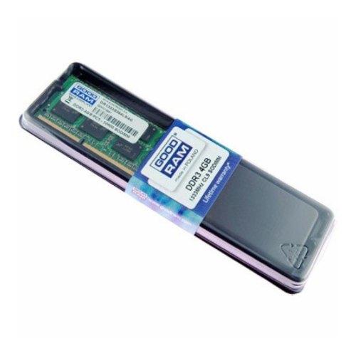 Модуль пам'яті SODIMM DDR3 GoodRam 4Gb 1333 MHz (W-AMM13334G) 4 Gb, DDR 3, 1333 MHz, PC3-10660, CL9, 1.5V, 1 планка