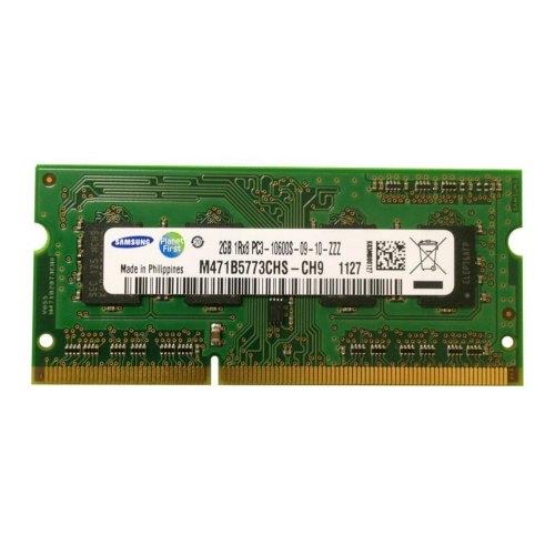Модуль памяті SоDIMM SAMSUNG DDR3 2048Mb (M471B5773CHS-CH9) 1333MHz, PC3-10600, CL7, 1.5V