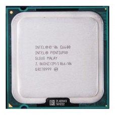 Процесор Intel Pentium DC E6600 (tray) s775, 3.06GHz, FSB 1066MHz, L2: 2MB, 2 ядра, 45nm, 65W, tray