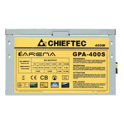 Блок живлення 400Вт Chieftec iArena GPA-400S