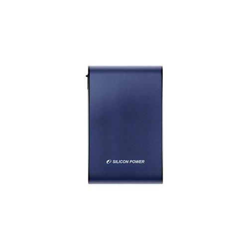 Зовнішній жорсткий диск 2.5 1TB Silicon Power (SP010TBPHDA80S3B) USB 3.0, Armor A80, пластик, синій