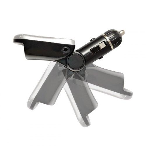 Автомобільний MP3-FM модулятор Grand-X CUFM75GRX Black SD/USB (CUFM75GRX Black)