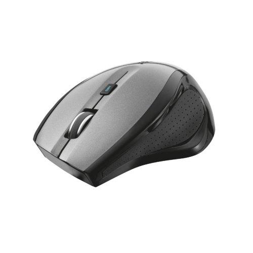 Мишка TRUST MaxTrack Wireless Mouse (17176) чорно-сіра, оптична, 1000 dpi, бездротова, nano, USB, BO