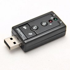 Звукова плата Dynamode USB-SOUNDCARD7 USB 2.0, 7.1 virtual surround