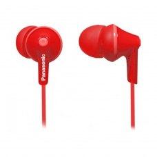 Навушники дротові, Panasonic RP-HJE125E-R Red