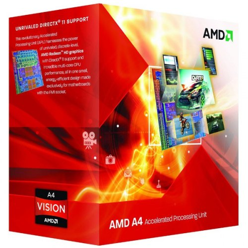 Процесор AMD A4-4000 3.0GHz/1MB (AD4000OKHLBOX) sFM2 BOX