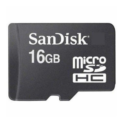 microSDHC карта 16Gb SanDisk class4 без адаптера (SDSDQM-016G-B35)