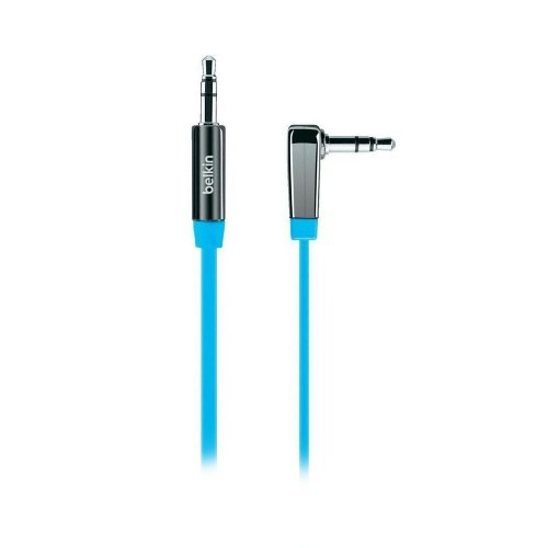 Кабель BELKIN аудио (jack 3.5мм-M/jack 3.5мм-M) MIXIT 0.9м, Blue