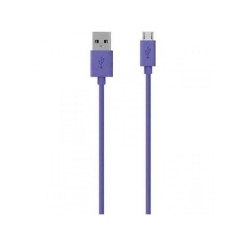 Кабель BELKIN USB 2.0 (AM/microB) MIXIT 2м, Purple