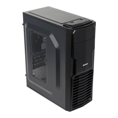 Корпус, без БЖ, Zalman ZM-T4 Black , MiniTower, mATX/Mini ITX, 1xUSB3.0, 1xUSB2.0, Audio HD, кулер: 1x120мм, 1x92(80)мм, 189x427,5x364мм, чорний