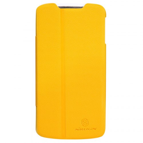 Чохол книжка Nillkin Fresh для Lenovo A820 Yellow