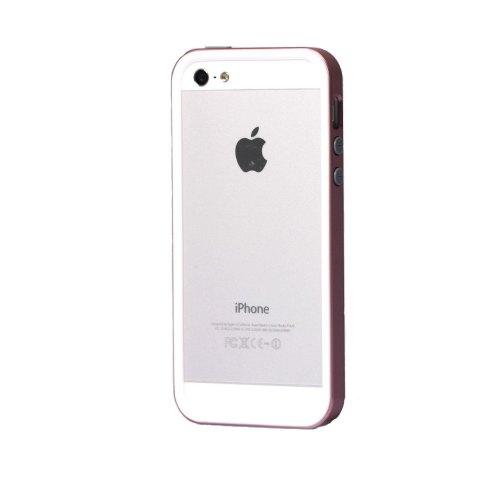 Бампер Spigen iPhone 5 / 5S / SE Neo Hybrid EX White Pink