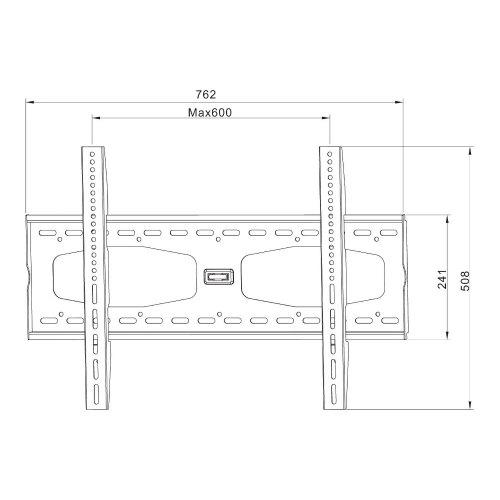 Кронштейн Walfix M-7B 37 - 60 VESA: 600x400
