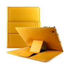Чохол Digi для планшету Apple iPad - SIGNATURE Leather Yellow