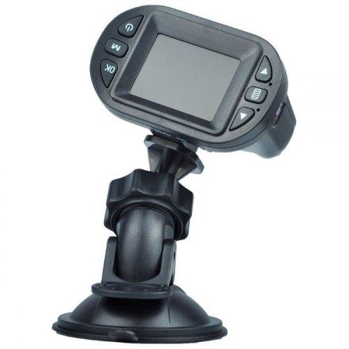 Відеореєстратор Globex GU-DVV002 CMOS 120град, microSD up 32GB, 1280х720@30fps video, 1.5 LCD, Mic, mUSB, IR-LED, Li-Ion 300mAh