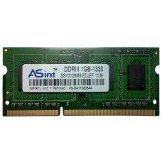 Модуль пам'яті SoDIMM DDR3 1Gb 1333 MHz Asint