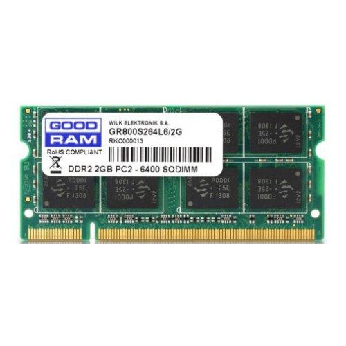 Модуль памяті SoDIMM DDR2 GoodRam 2048Mb 800MHz (GR800S264L6/2G)