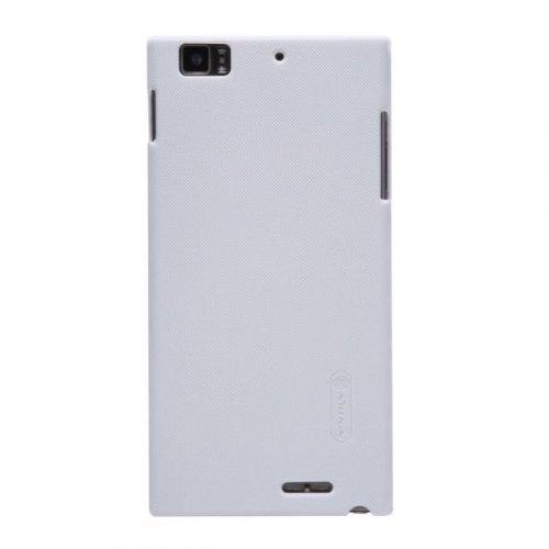 Накладка Nillkin Matte для Lenovo K900 (+ плівка) White