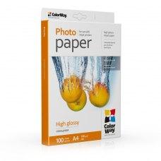 Папір ColorWay A4 (ПГ180-100) (PG180100A4) 180 г/м2, 100 аркушів, глянець