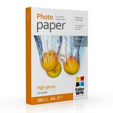 Папір ColorWay A4 (ПГ230-100) (PG230100A4) 230 г/м2, 100 аркушів, глянець