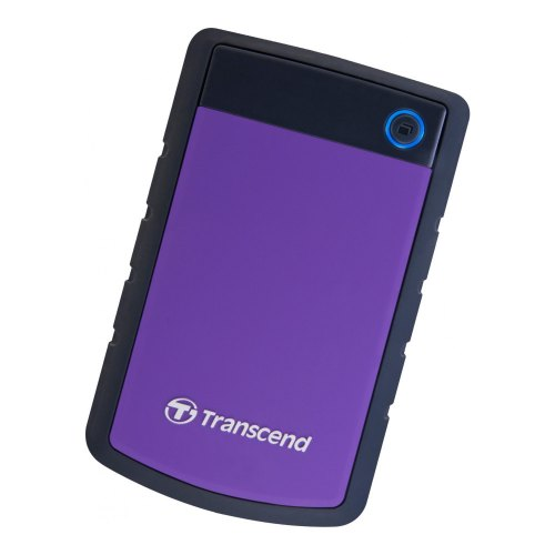 Зовнішній жорсткий диск 2TB Transcend StoreJet 25H3P (TS2TSJ25H3P) 2.5 USB3.0 Black-Purple