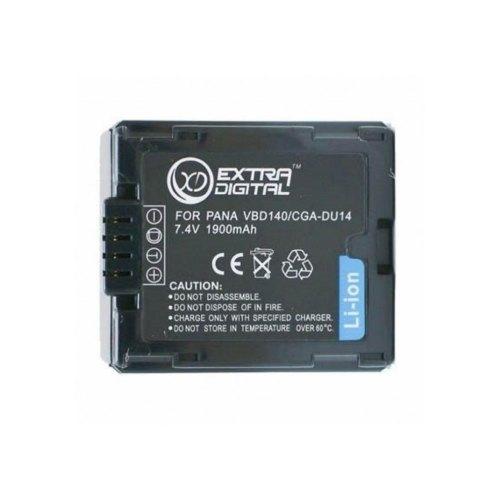 Акумулятор ExtraDigital Panasonic CGA-DU14