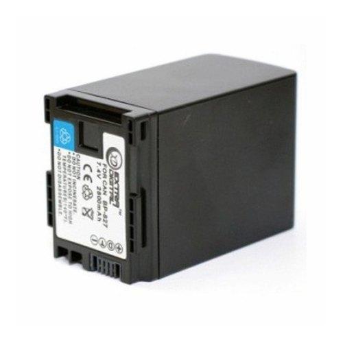 Акумулятор ExtraDigital Canon BP-827 Chip