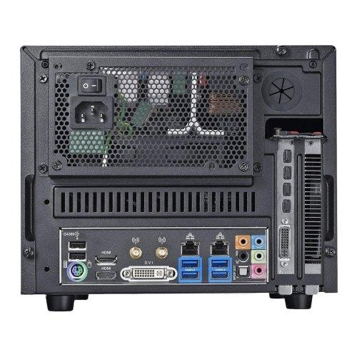 Корпус, без БЖ, CoolerMaster Elite 130 Black (RC-130-KKN1), MiniTower, miniATX, 2xUSB3.0, 1xUSB2.0, Audio HD, кулер: 1x120мм, 240x208x399мм, чорний