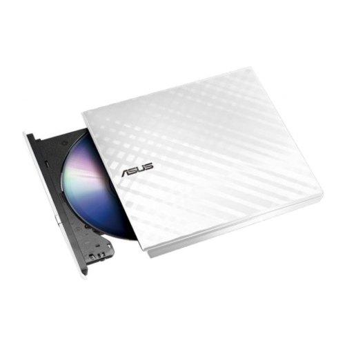 Оптичний привід DVD+/-RW ASUS SDRW-08D2S-U LITE (SDRW-08D2S-U LITE/WHT/G/AS) White