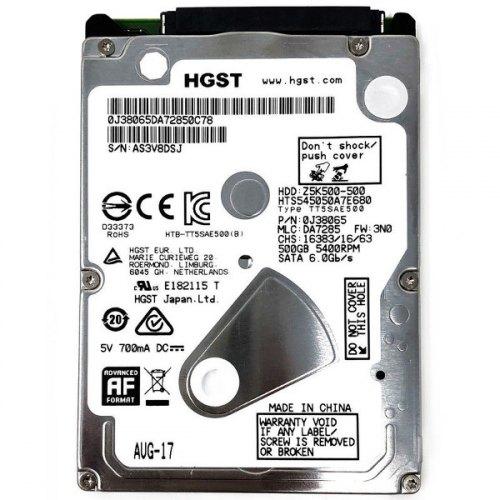 Жорсткий диск HDD 2.5 500GB Hitachi (0J29575 / HTS545050A7E680)