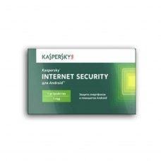 Антивірус Kaspersky Internet Security for Android 1 рік 1 пристрій карточка